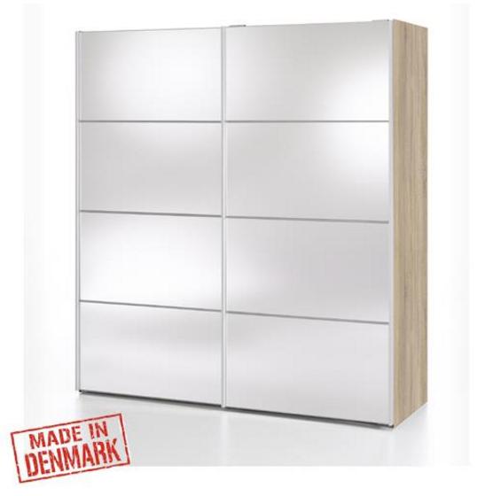 מפוארת ארון הזזה עם דלתות מראה תוצרת דנמרק דגם ורונה IM-53